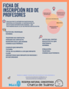 Inscripción Red de Profesores. Autorrellenable