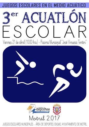 Acuatl n escolar for Piscina municipal motril